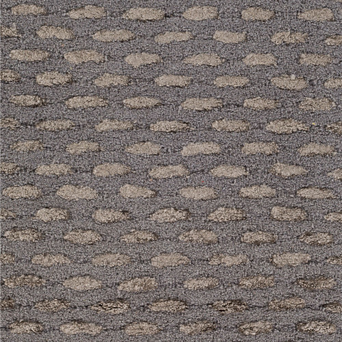 10' x 10' Contemporary Style Gray and Taupe Brown Square Area Throw Rug - IMAGE 1