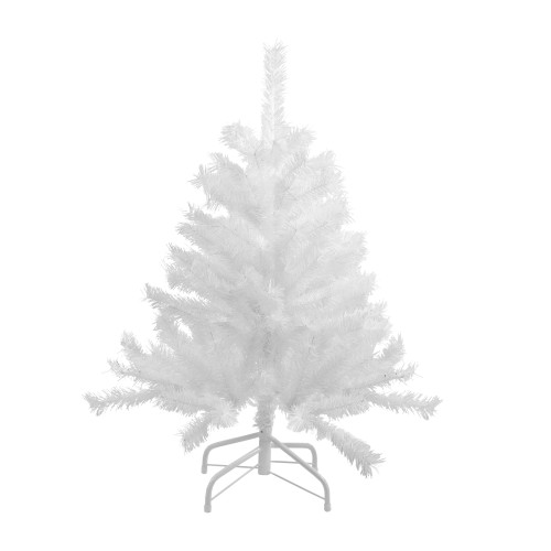 4' Icy White Spruce Artificial Christmas Tree - Unlit - IMAGE 1