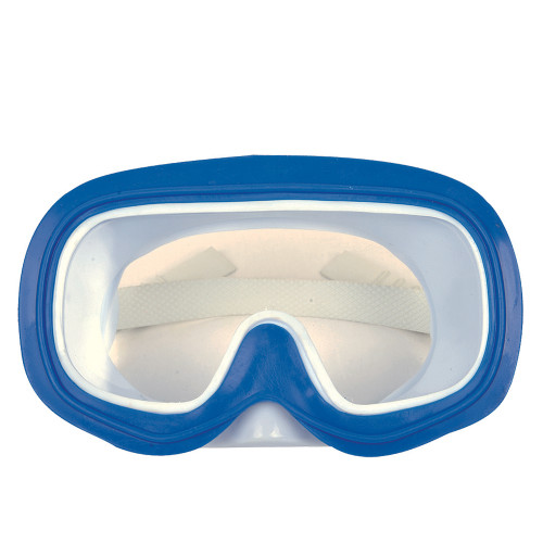 "6.75"" Blue and White Zray Recreational Swim Mask for Children - IMAGE 1"