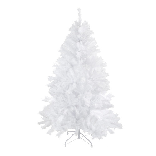 6' Icy White Spruce Artificial Christmas Tree - Unlit - IMAGE 1