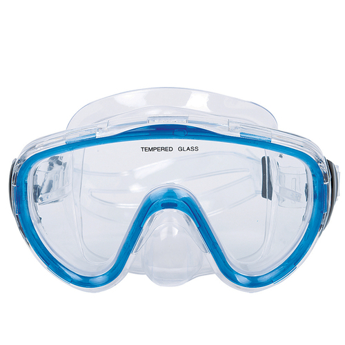 14+ Years -  Blue Zray Recreational Swim Mask for Teens - IMAGE 1