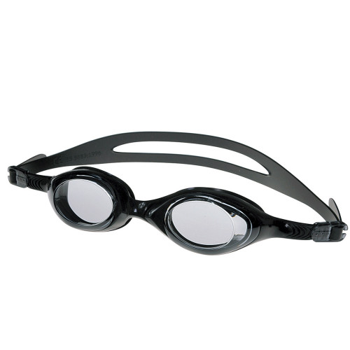 """8.5"""" Black Zray Competition Swimming Pool Goggles - IMAGE 1"""