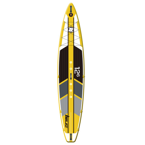 12.5' Zray R1 Rapid Race Inflatable Stand-Up Paddle Board - IMAGE 1