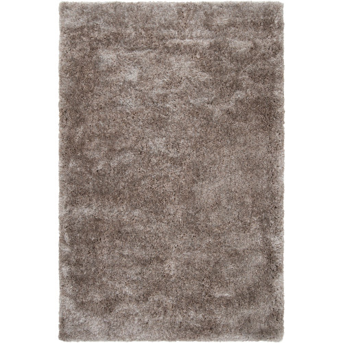 9' x 12' Solid Taupe Brown Hand Woven Rectangular Area Throw Rug - IMAGE 1