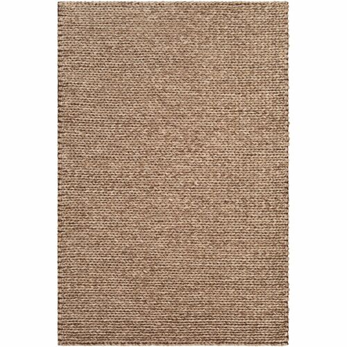 9' x 13' Braided Design Beige and Brown Rectangular Area Throw Rug - IMAGE 1