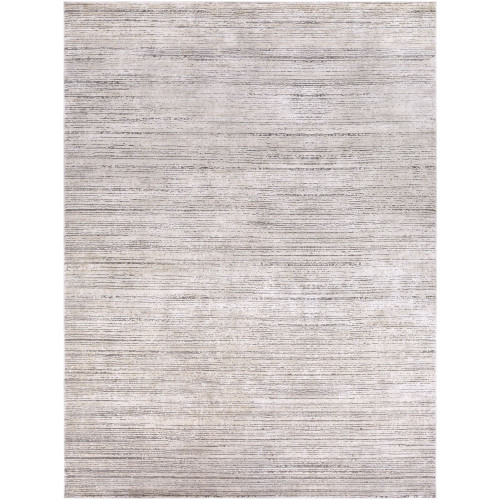 11.8' x 14.9' Distressed Finish Brown and Ivory Rectangular Area Throw Rug - IMAGE 1