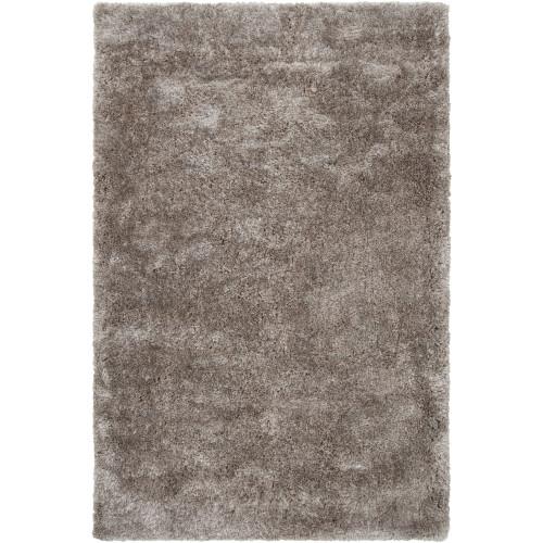 10' x 14' Solid Charcoal Gray Rectangular Area Throw Rug - IMAGE 1