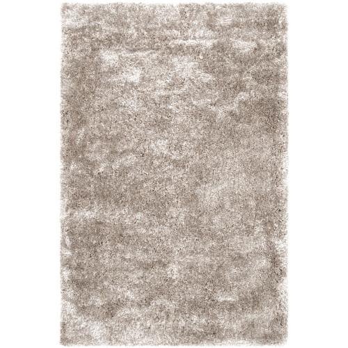 10' x 14' Solid Gray Rectangular Area Throw Rug - IMAGE 1