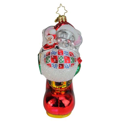 Christopher Radko Dreaming of Santa Christmas Ornament #1019714 - IMAGE 1