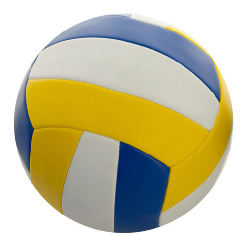"""Pack of 2 Size 5 Yellow and Blue Volleyball 8.5"""" - IMAGE 1"""
