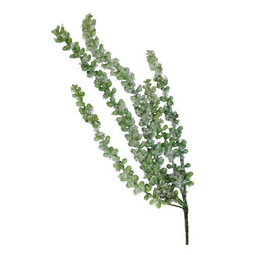 """16.5"""" Iced Donkey's Tail Artificial Succulent Spray - IMAGE 1"""