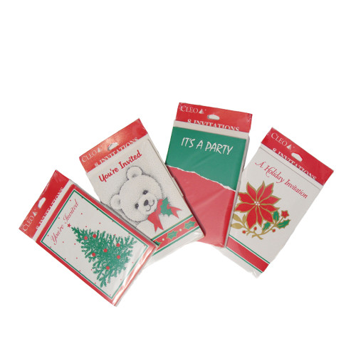 Club Pack of 288 Christmas Holiday Party Invitation Cards - IMAGE 1