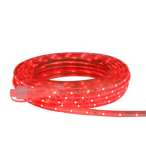 10' Red LED Outdoor Christmas Linear Tape Lighting - IMAGE 1