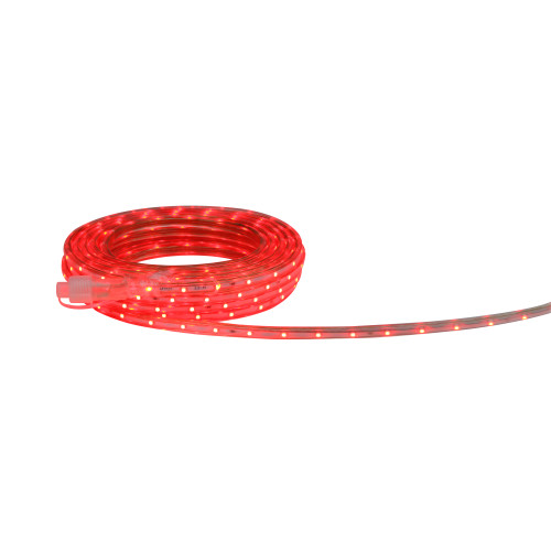 30' Red LED Outdoor Christmas Linear Tape Lighting - IMAGE 1