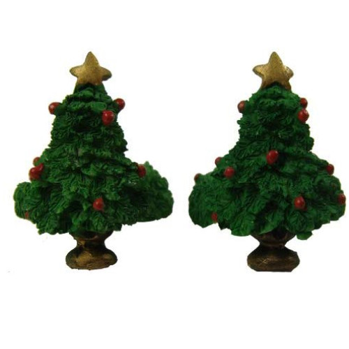 "Club Pack of 288 Green Christmas Tree Taper Candle Rings 1.5"" - IMAGE 1"
