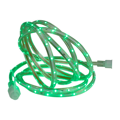 Green LED Outdoor Christmas Linear Tape Lighting - 30 ft Clear Tube - IMAGE 1