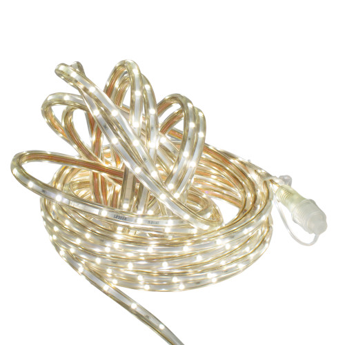 100' Warm White LED Outdoor Christmas Linear Tape Lighting - IMAGE 1