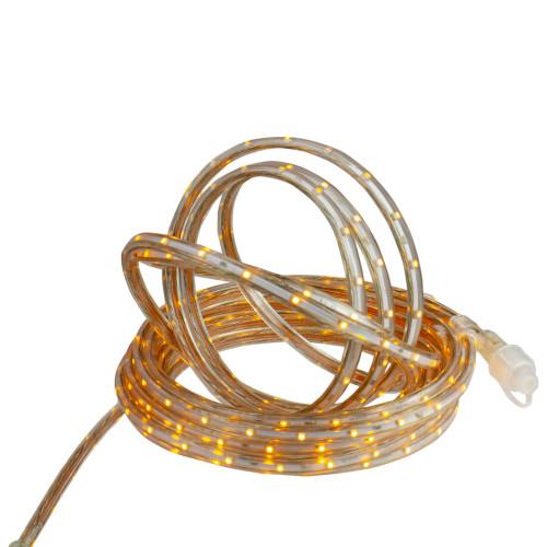 30' Amber LED Outdoor Christmas Linear Tape Lighting - IMAGE 1