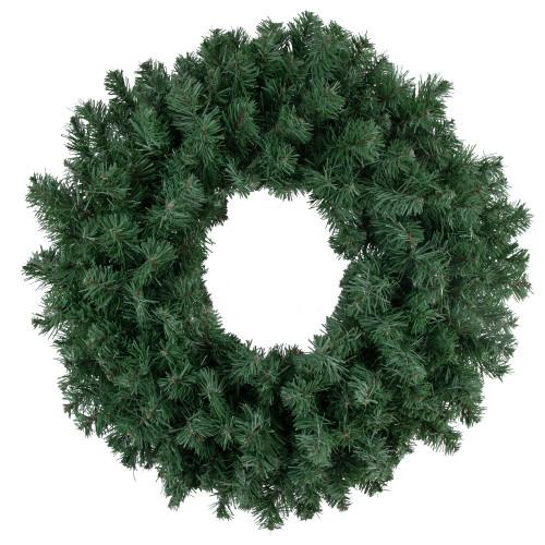 Colorado Spruce Artificial Christmas Wreath - 24-Inch, Unlit - IMAGE 1