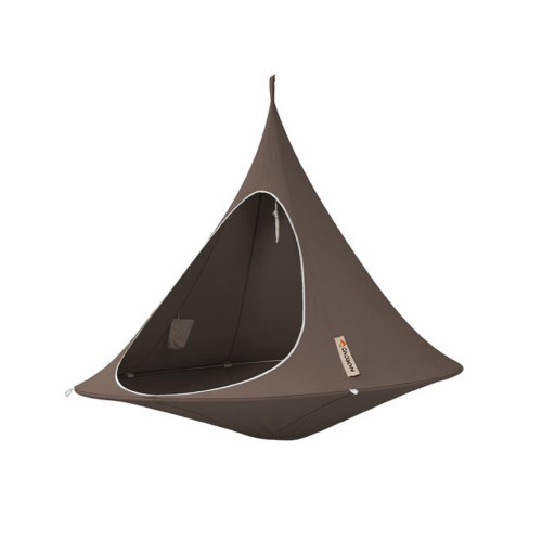 """72"""" Brown Two Person Hanging Cacoon Chair with Hanging Hardware - IMAGE 1"""