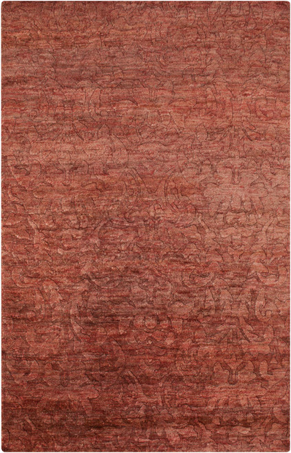 5' x 8' Brown and Beige Contemporary Area Throw Rug Runner - IMAGE 1