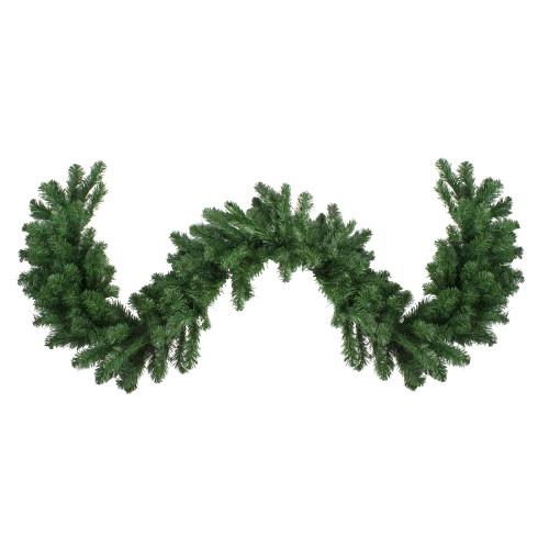 "9' x 14"" Colorado Spruce Artificial Christmas Garland - Unlit - IMAGE 1"