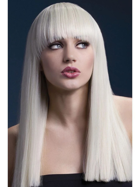 """26"""" Blonde Ivory Fever Alexia Long Women Adult Halloween Wig Costume Accessory - One Size - IMAGE 1"""