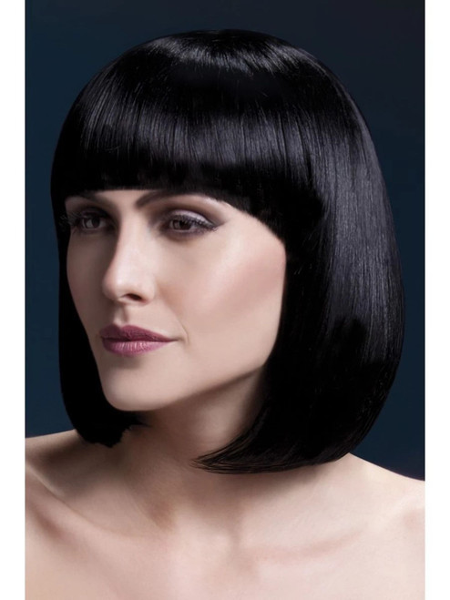 "26"" Brown Fever Elise Short Hair Women Adult Halloween Wig Costume Accessory - One Size - IMAGE 1"