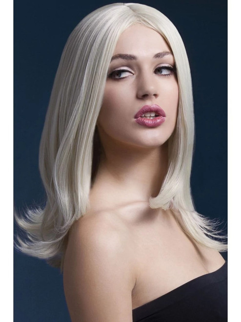 """17"""" Blonde Fever Sophia Long Hair Layered Women Adult Halloween Wig Costume Accessory - One Size - IMAGE 1"""