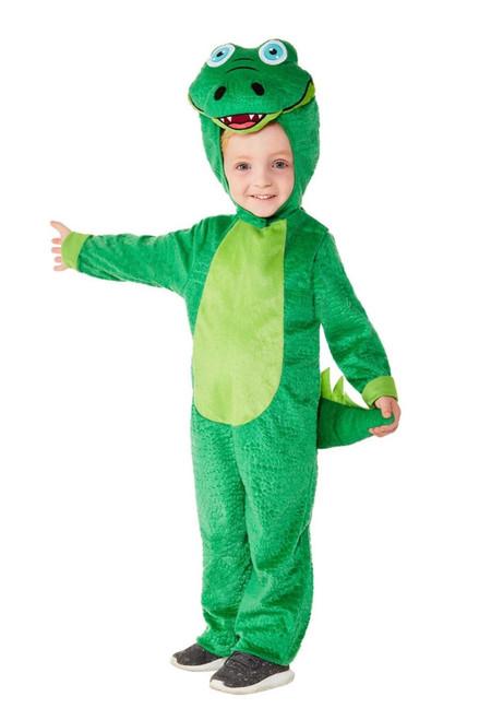 "42"" Green Crocodile Toddler Halloween Costume - T2 - IMAGE 1"