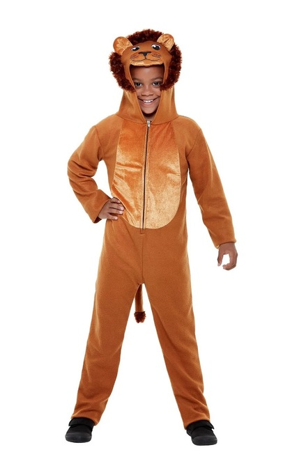 "41"" Brown Lion Unisex Child Halloween Costume - Small - IMAGE 1"