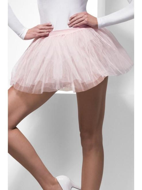 "38"" Pink Tutu Women Adult Halloween Underskirt Costume Accessory - One Size - IMAGE 1"