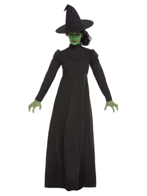 """40"""" Black Wicked Witch Women Adult Halloween Costume - XS - IMAGE 1"""