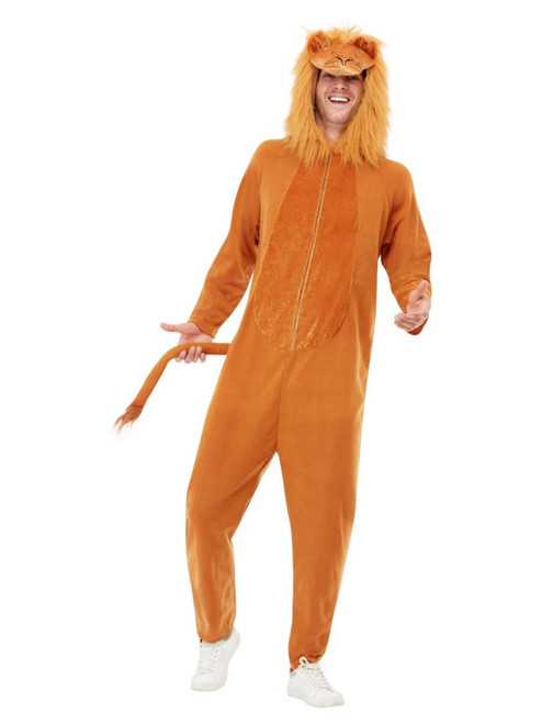 "41"" Brown Lion Unisex Adult Halloween Costume - XL - IMAGE 1"