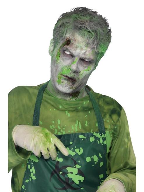 "19"" Green FX Monster Ooze Blood Unisex Adult Halloween Makeup Costume Accessory - IMAGE 1"