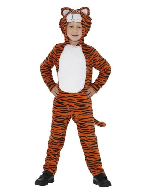 "50"" Orange and Black Tiger Toddler Halloween Costume - T2 - IMAGE 1"