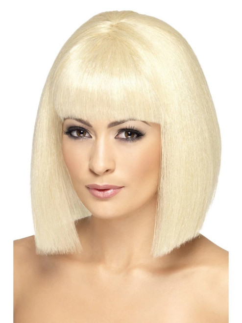 "26"" Blonde Yellow Coquette Women Adult Halloween Wig Costume Accessory - One Size - IMAGE 1"