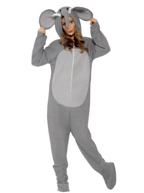"""42"""" Gray Elephant Unisex Adult Halloween Costume - Large - IMAGE 1"""