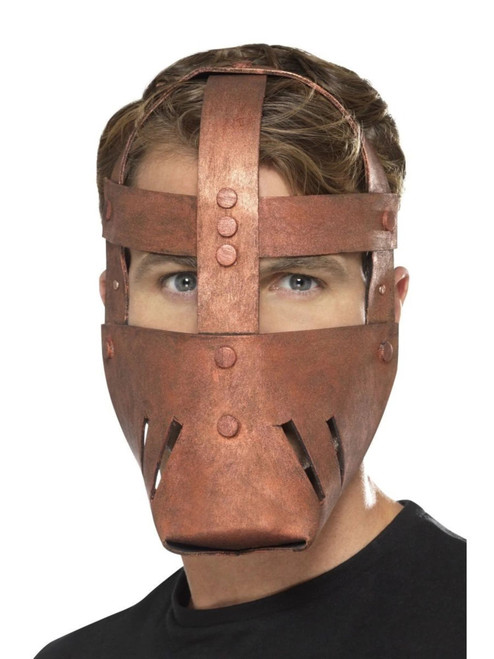 "28"" Bronze Roman Warrior Historical Adult Men Halloween Mask Costume Accessory - One Size - IMAGE 1"