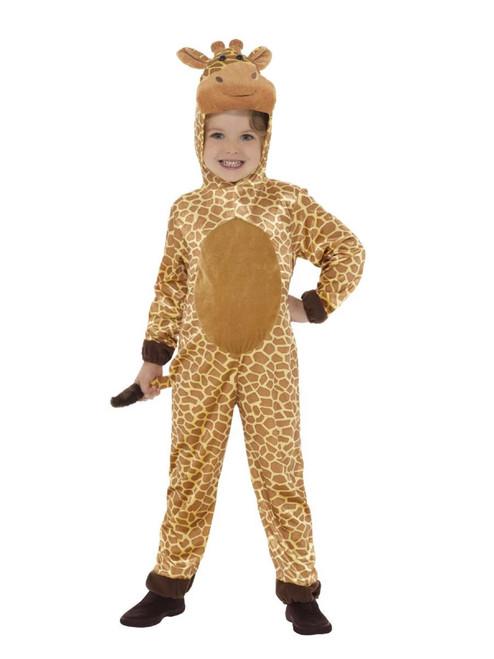 """48"""" Yellow and Brown Giraffe Unisex Child Halloween Costume - Small - IMAGE 1"""