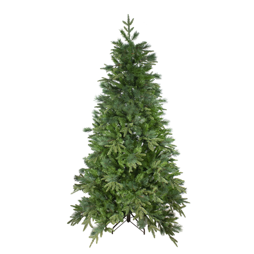 7.5' Medium Mixed Rose Mary Emerald Angel Pine Artificial Christmas Tree - Unlit - IMAGE 1