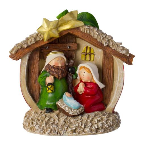 "7.5"" Tabletop Children's First Nativity Scene Christmas Decoration - IMAGE 1"