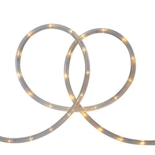 Warm White LED Outdoor Flexible Christmas Rope Light Set, 18ft - IMAGE 1