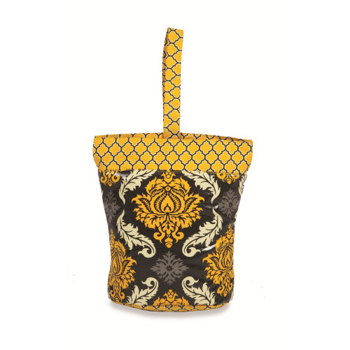 """11"""" Yellow Accented On the Go Insulated Lunch and Picnic Tote - IMAGE 1"""