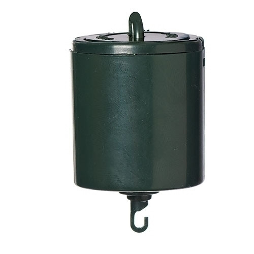 "2.5"" Sacramento Green Battery Operated Ornamotor Rotating Christmas Ornament Motor - IMAGE 1"