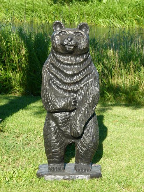 """56"""" Standing Tall Bear Indoor/Outdoor Statue - IMAGE 1"""