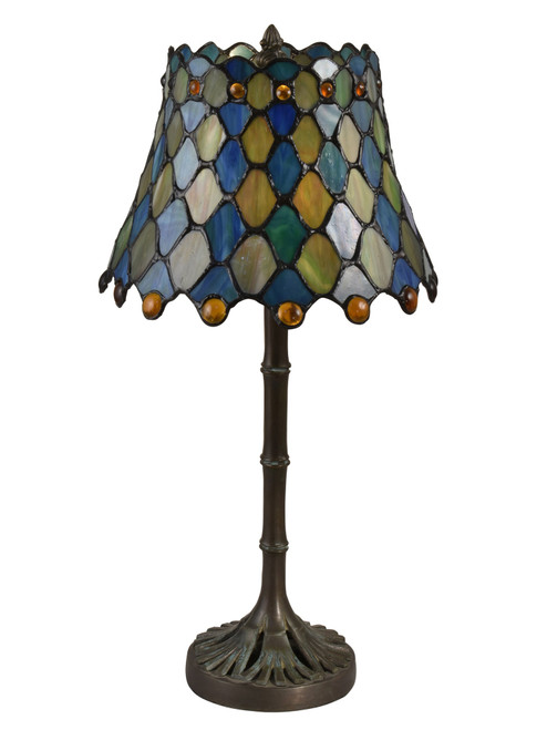 """16.5"""" Accent Tiffany Maile table Top Lamp - IMAGE 1"""