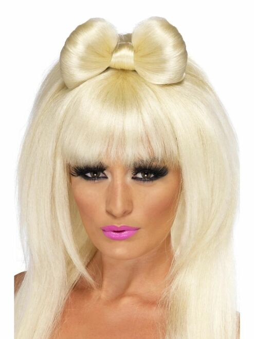 "26"" Blonde Pop Sensation Long Women Adult Halloween Wig Costume Accessory - One Size - IMAGE 1"