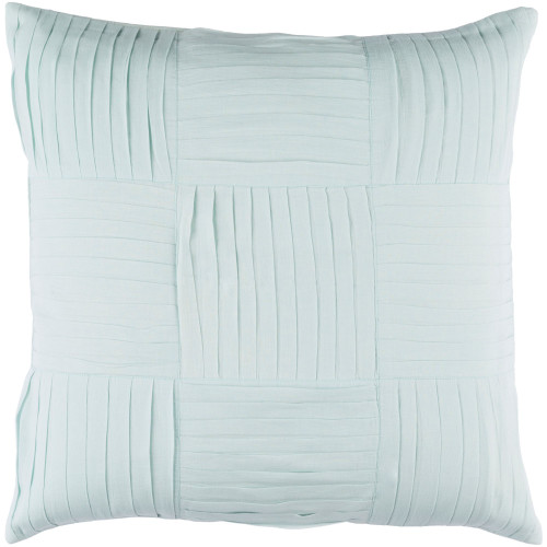 """22"""" Pistachio Green Solid Square Throw Pillow Cover - IMAGE 1"""