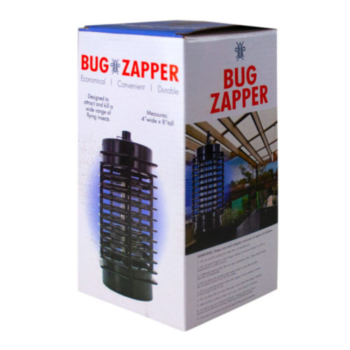 """8.25"""" Black Indoor and Outdoor Insect Bug Zapper - IMAGE 1"""